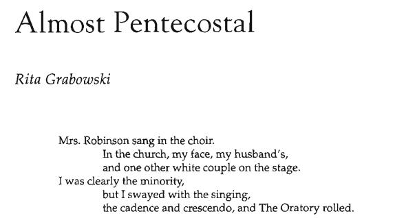 Almost Pentecostal