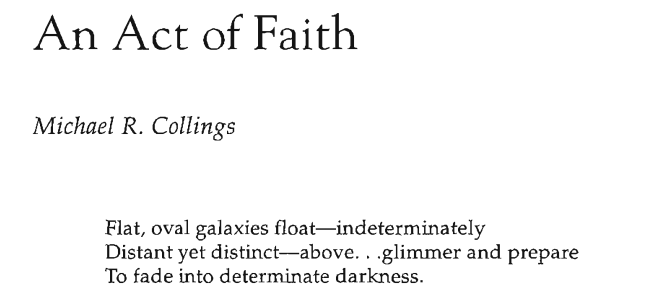 An Act of Faith