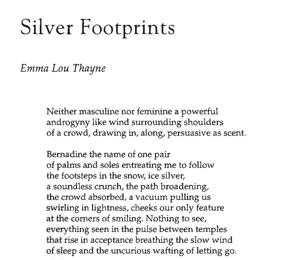 Silver Footprints