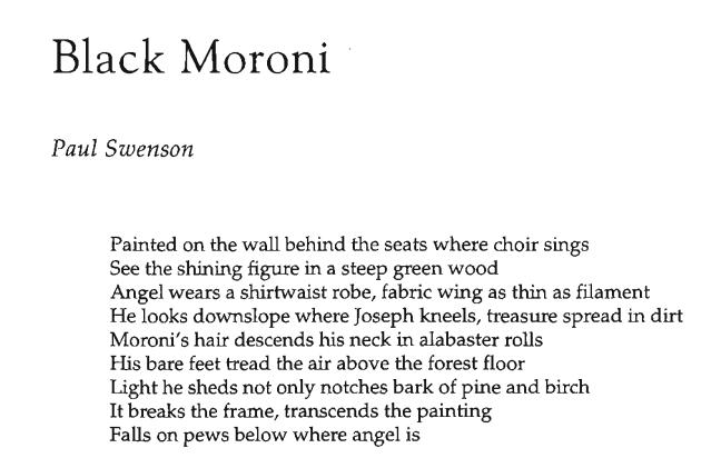Black Moroni