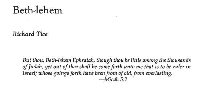 Beth-lehem