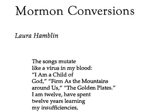 Mormon Conversions