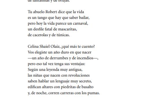 Poema de Halloween, 2001