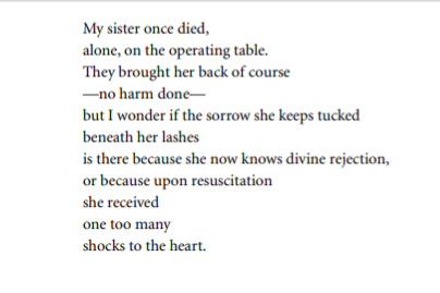 My Sister Once Died