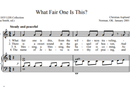 Why Mormons Sing in Parts (Or Don't)