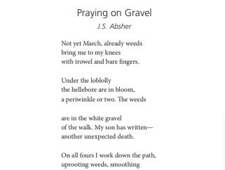 Praying on Gravel